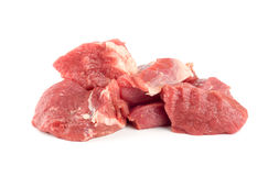 Red meat isolated Royalty Free Stock Image