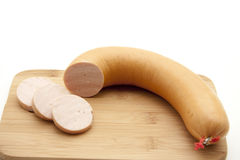 Red meat sausage Royalty Free Stock Image