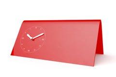 Red mechanical clock Stock Photos