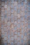 red med den vita skarven Abstrakt bakgrund med tegelstenar Royaltyfri Fotografi