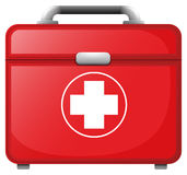 A red medical bag Royalty Free Stock Photography