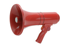 Red Megaphone Royalty Free Stock Images
