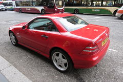 Red Mercedes-Benz SLK230 Royalty Free Stock Photography