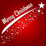 Red merry christmas background Royalty Free Stock Photography