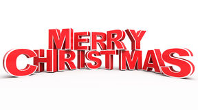 Red Merry Christmas background Royalty Free Stock Photos