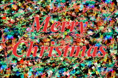 Red Merry Christmas Royalty Free Stock Photos
