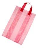 Red mesh bag Stock Image