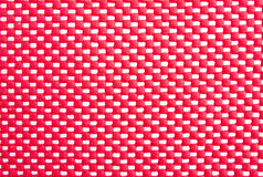 Red mesh surface Royalty Free Stock Photography