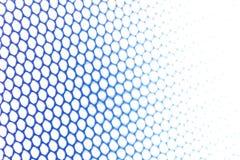 Red metálica azul Imágenes de archivo libres de regalías