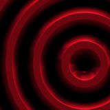 Red metal. Abstract of red metal sculpture for use as background art Royalty Free Stock Images