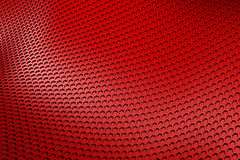 Red metal background Royalty Free Stock Images