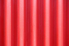 Red metal background Stock Photography