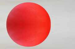 Red metal ball Royalty Free Stock Image
