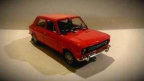 Red metal car zastava Stock Photography