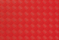 Red metal diamond plate photo background Stock Photos