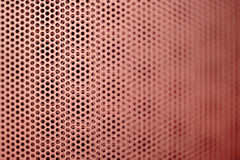 Red metal grill seamless pattern Stock Photo
