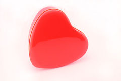 Red metal heart Royalty Free Stock Photography