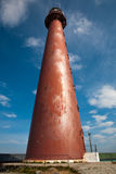 Red metal lighthouse Royalty Free Stock Photos