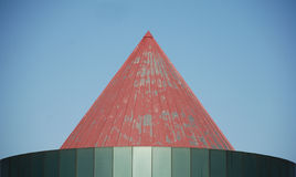 Red Metal Roof Royalty Free Stock Photos