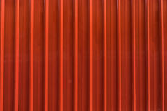 Red metal sheet Royalty Free Stock Image