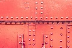 Red metal Stock Photos