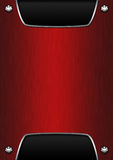 Red metallic background Stock Image