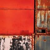 Red metallic background royalty free stock photo