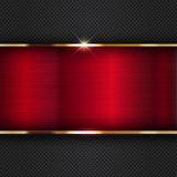 Red metallic background Royalty Free Stock Photography