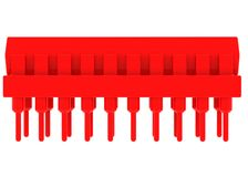 Red microchip Royalty Free Stock Photos