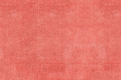 Red microfiber texture Stock Images