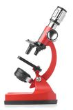 Red microscope Stock Image
