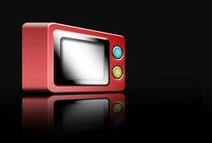 Red microwave Royalty Free Stock Photography