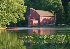The Red Mill Royalty Free Stock Photography