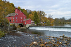 Red Mill View Royalty Free Stock Photo