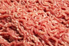 Red minced meat, meat food royalty free stock images