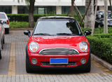 Red Mini Car Stock Photography