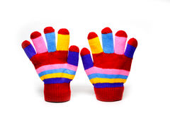 Red mittens Royalty Free Stock Photography