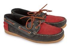 Red Moccasins Royalty Free Stock Photos