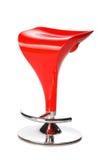 Red modern bar chair Stock Photos