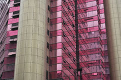 Red modern building Royalty Free Stock Images
