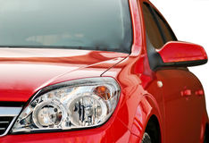 Red modern car Stock Image