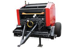 Red modern seeder Stock Images