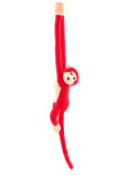 Red monkey doll Royalty Free Stock Photo