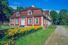 Red monor in Latvia. Stock Photography