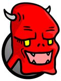 Red monster Royalty Free Stock Image
