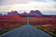 Monument Valley Route Royalty Free Stock Photo