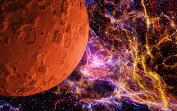 Red Moon Royalty Free Stock Photos