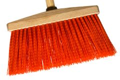 Red broom Stock Images