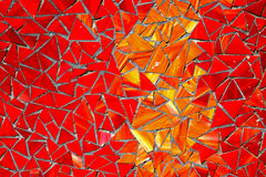 Red mosaic Royalty Free Stock Photography