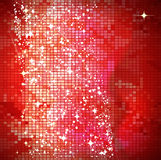 Red mosaic background vector illustration